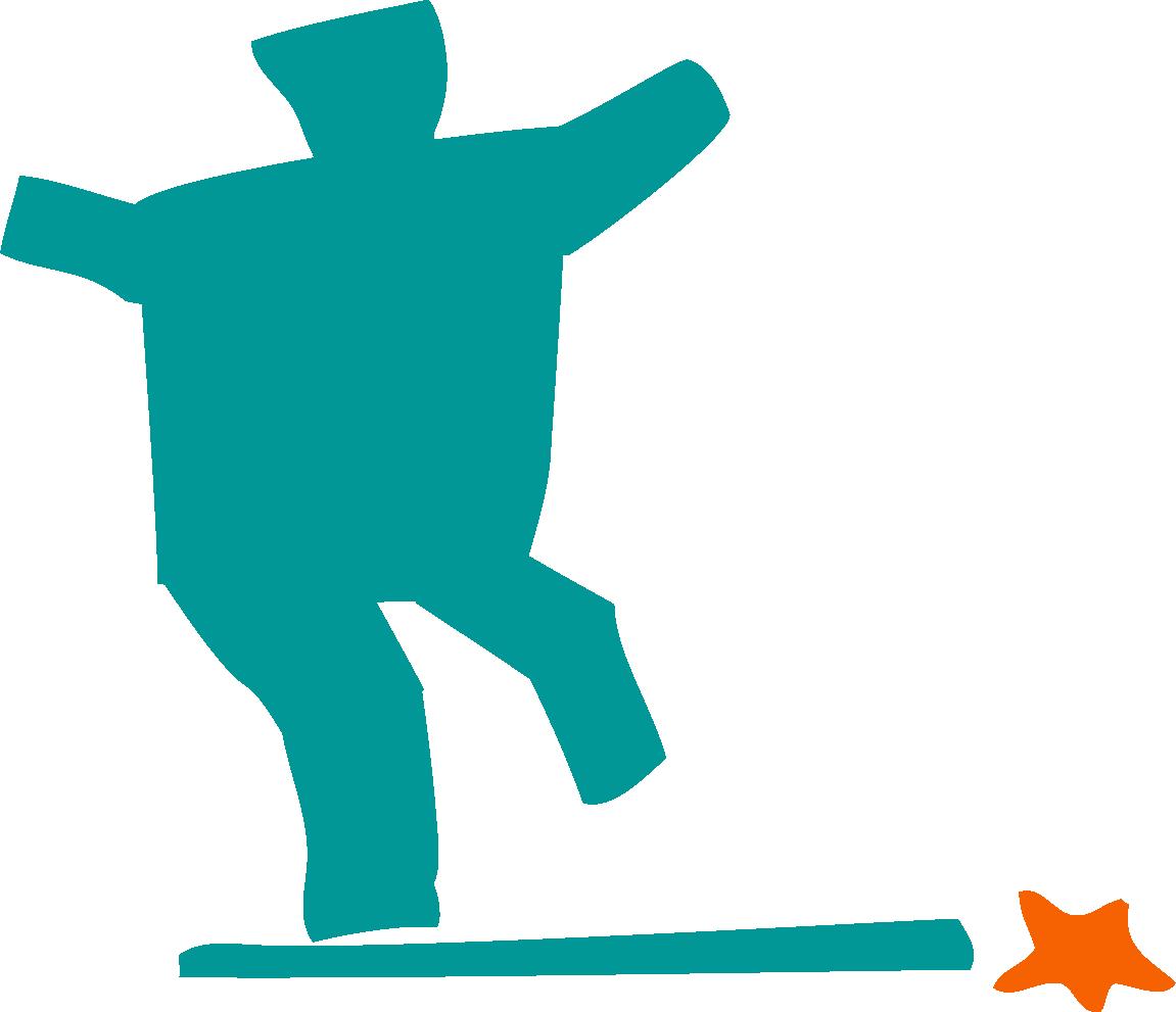 Logo de Peregrino surfista Albergue Corredoiras Padrón
