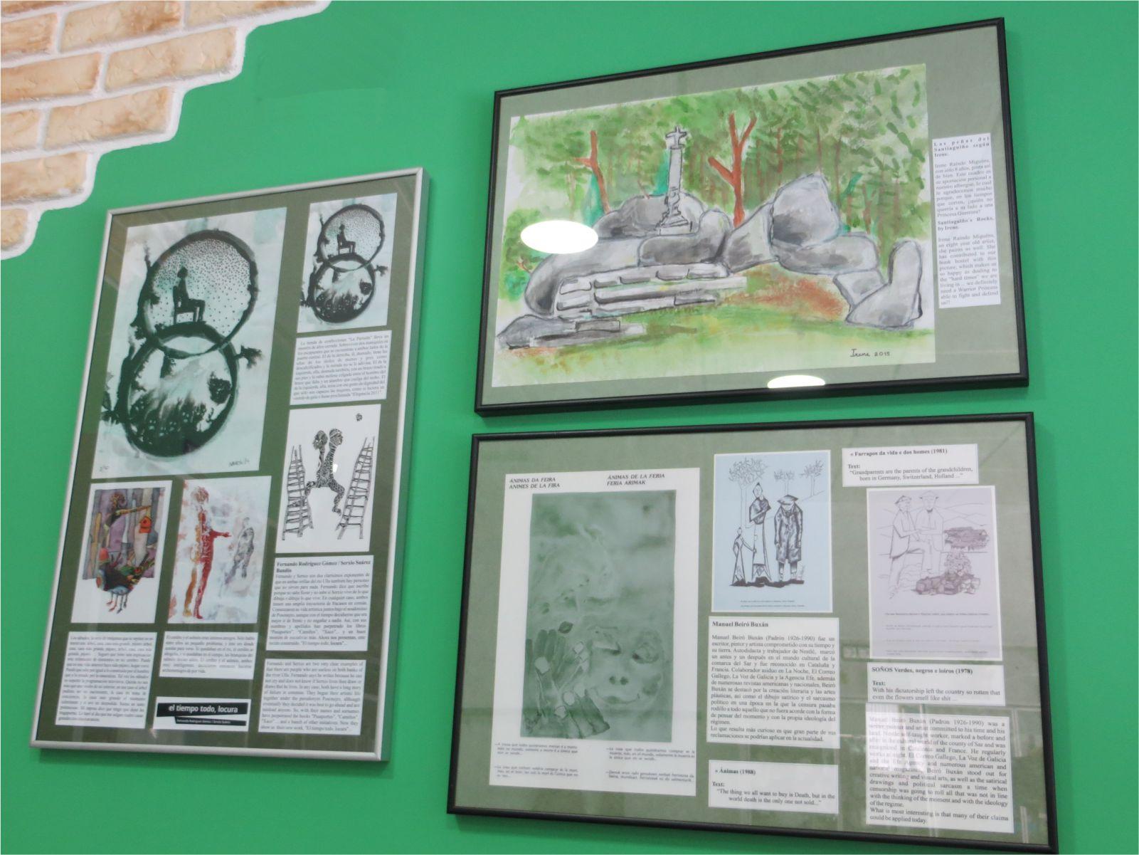 Artistas locales - Local artists - Albergue Corredoiras