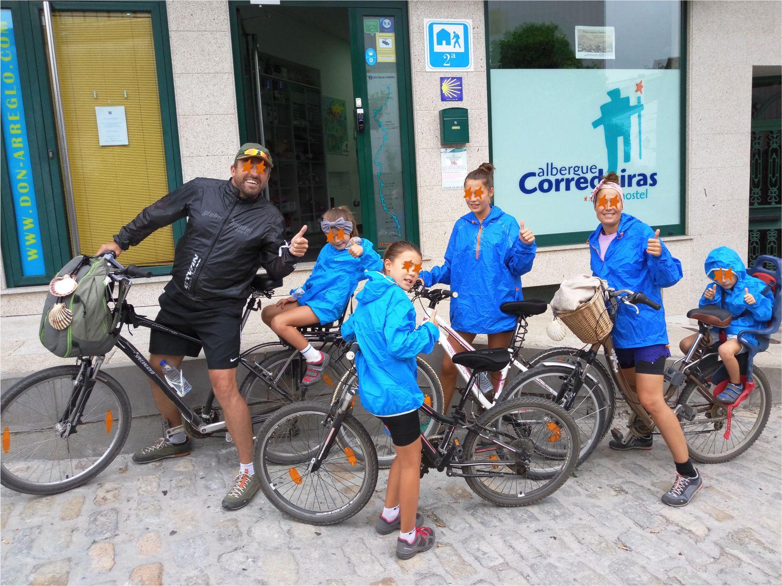 Ciclistas - Cyclists - Albergue Corredoiras