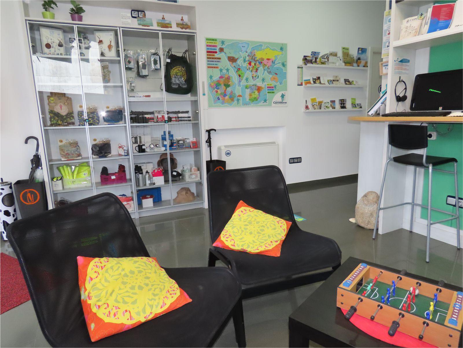 Detalle Sala - Living room - Albergue Corredoiras