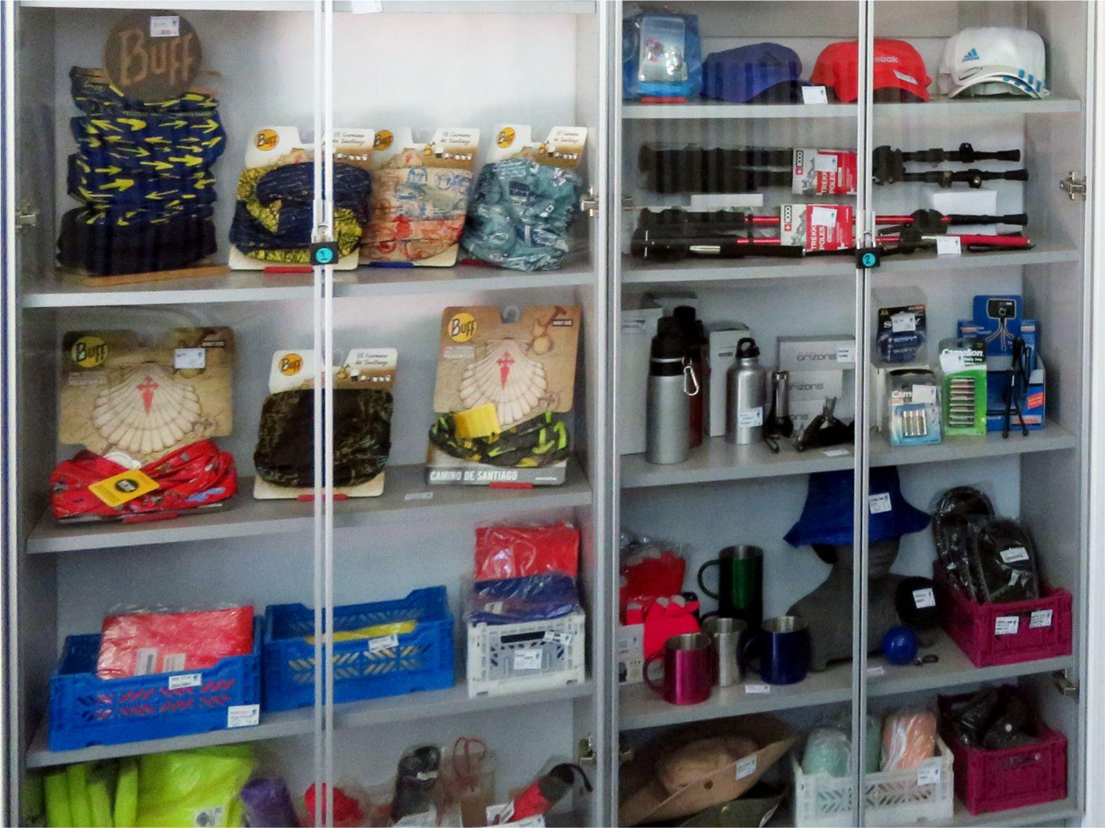Tienda - Shop - Albergue Corredoiras